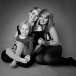 Family photography studio portraits
