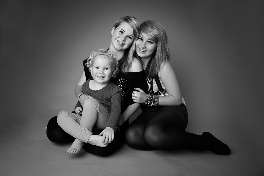 Family photography studio portraits